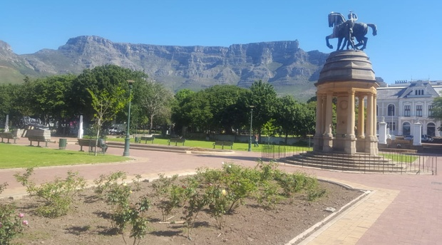 Cape Town Gardens. The Company gardens