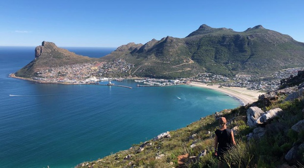 Hout bay harbour - The Sentinal