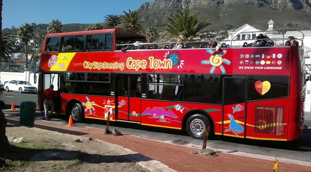 CITY SITE SEEING   - CAPE TOWN.THE HOP ON HOP OFF BUS