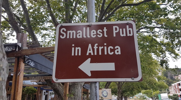 Smallest Pub in Africa